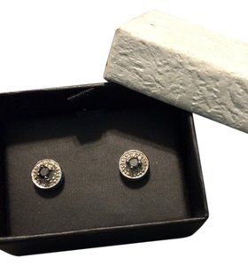 Black Diamond Ear Studs
