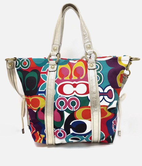 Coach Poppy 13830 Spotlight Fabric Shoulder Bag Image 10