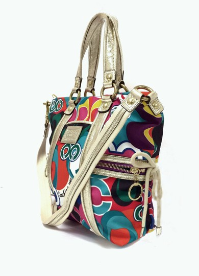 Coach Poppy 13830 Spotlight Fabric Shoulder Bag Image 3