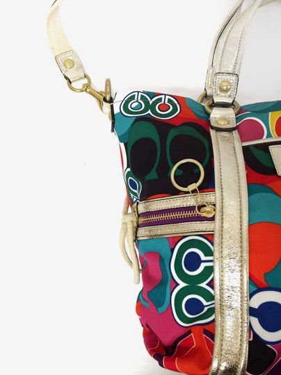 Coach Poppy 13830 Spotlight Fabric Shoulder Bag Image 8