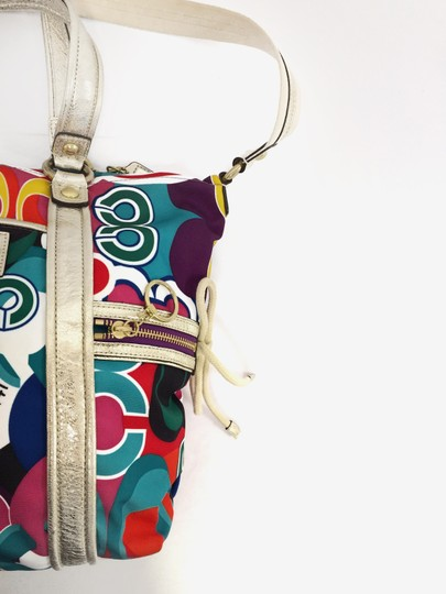 Coach Poppy 13830 Spotlight Fabric Shoulder Bag Image 9