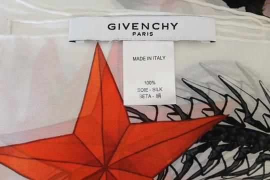 Givenchy NEW! Floral Paradise Long Scarf 100% Silk Chiffon Made in Italy Image 7