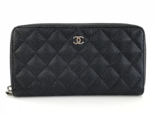 Chanel Wallet. Credit Card Black Clutch