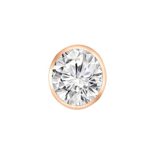 Marco B Diamonds By The Yard Necklace in 14K Rose Gold Bezel Set 0.10 Carat D Image 1