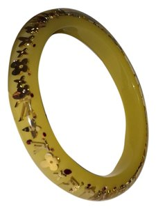 Louis Vuitton Louis Vuitton inclusion bracelet - yellow