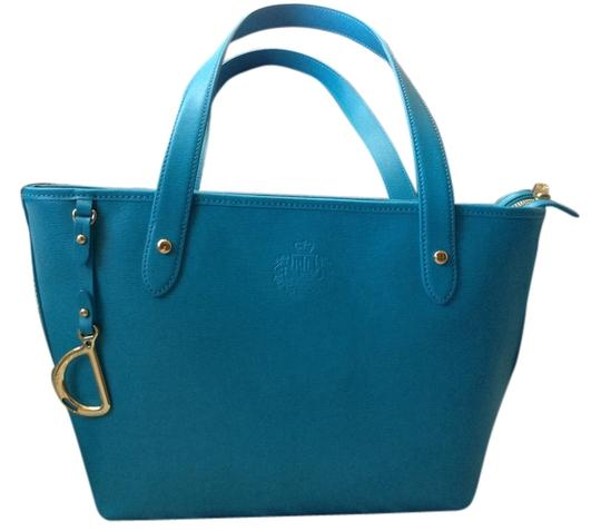 Lauren by Ralph Lauren Satchel in Blue