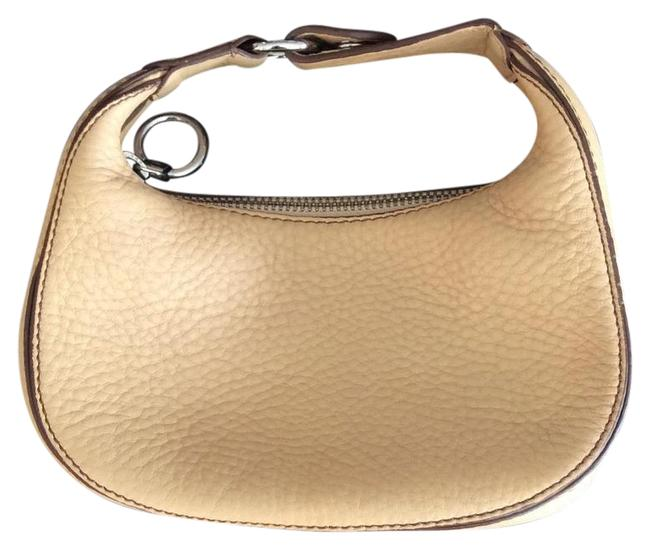 Item - Pebbled Camel Leather Baguette