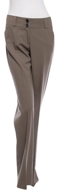 Item - Taupe Wool Pants Size 6 (S, 28)