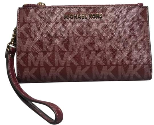 3cb1ba9e1e3b Michael Kors Double Zipper Wristlet Wallet | Jaguar Clubs of North ...