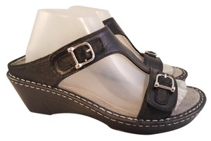 Alegria by PG Lite Butterfly Paloma BLACK Sandals