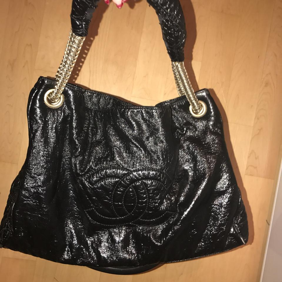 Chanel Rodeo Drive Patent Leather Tote - Tradesy 3dcf2aa468b48