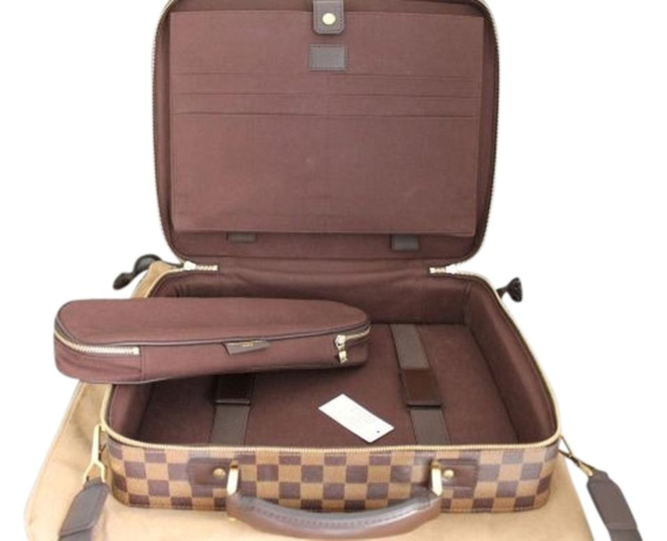 Louis Vuitton Sabana Computer Case Briefcase and Accesory Pouch ... bad449649e040