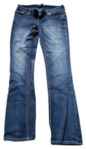 Express Boot Cut Jeans-Medium Wash