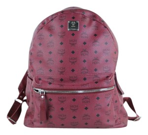 MCM Stark Brock Monogram Michael Montsouris Backpack