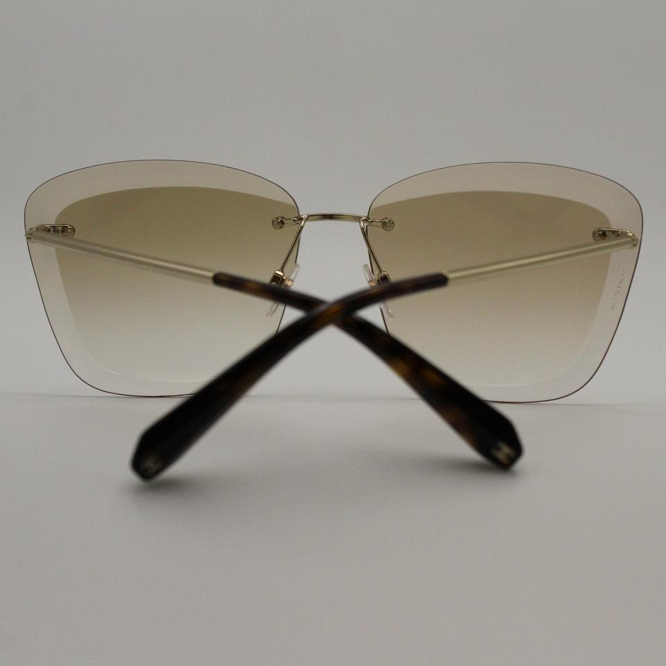 6d0fdcfc6a567 Chanel Round Prism Gradient Gold Brown 4221 Sunglasses Image 7. 12345678