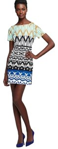 Plenty by Tracy Reese Print Multi-color Shift Dress