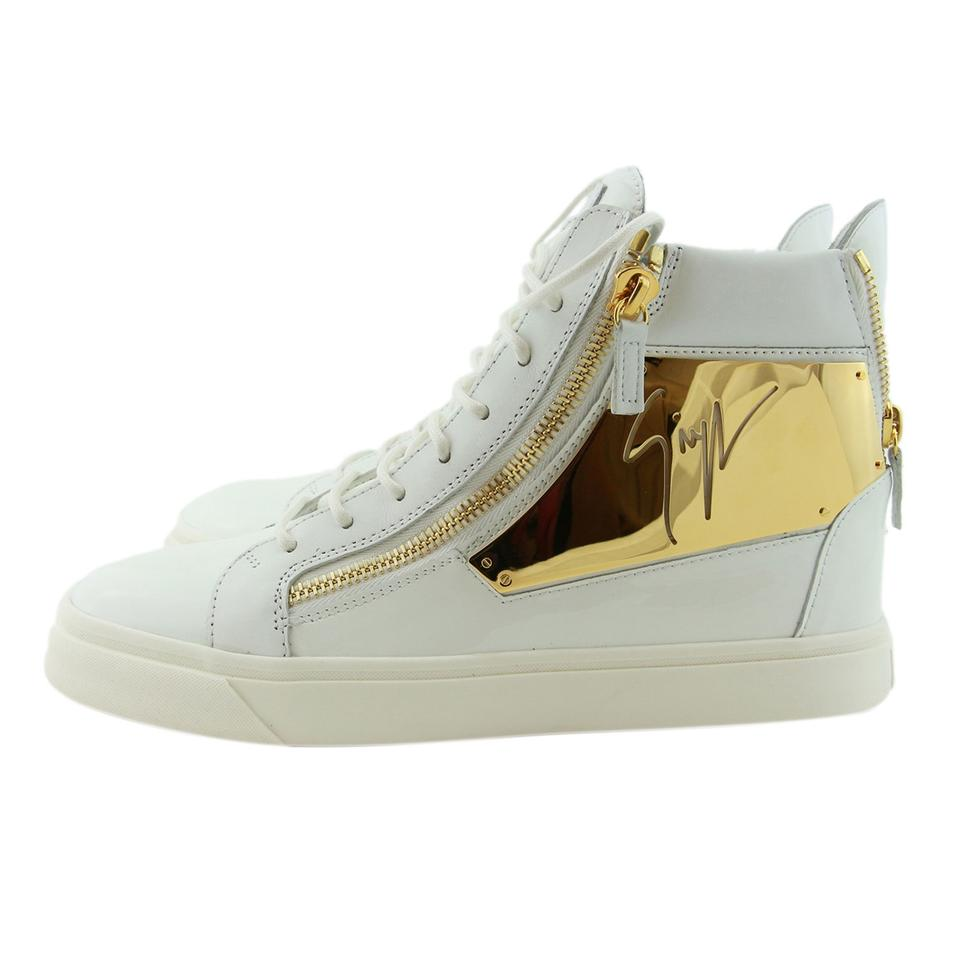 8743225ff390e Giuseppe Zanotti Men Men High Top Sneakers High Top White Boots Image 0 ...