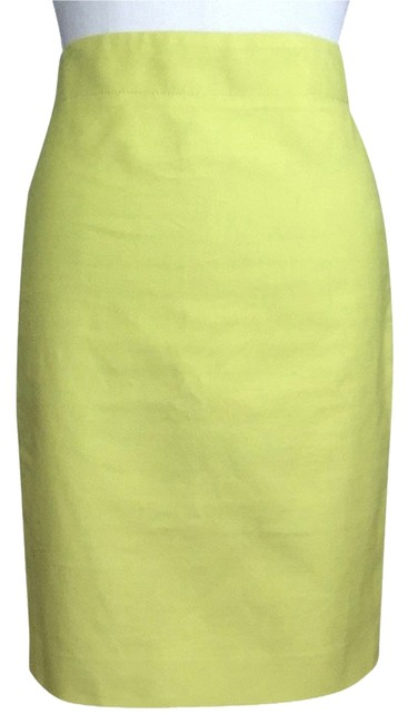 Preload https://img-static.tradesy.com/item/2212780/jcrew-neon-green-no-2-pencil-in-cotton-twill-knee-length-skirt-size-4-s-27-0-0-650-650.jpg