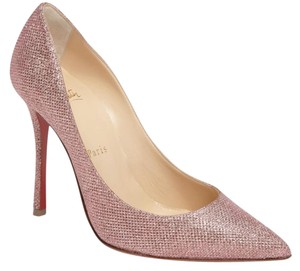Christian Louboutin Decoltish Glitter pink Pumps