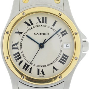 Cartier Cartier Two Tone Santos Ronde 1910 Automatic Watch