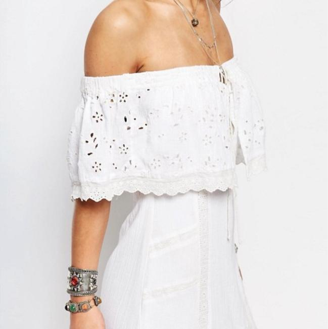 Free People short dress white on Tradesy Image 2