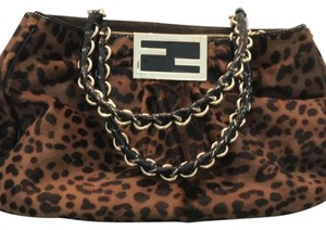 Fendi Satchel in Cheetah Print