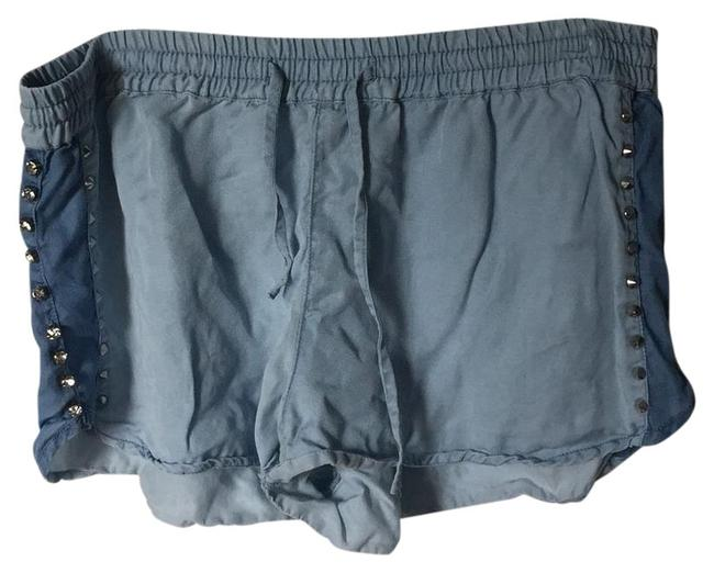 Item - Denim Studded Chambray Shorts Size 8 (M, 29, 30)