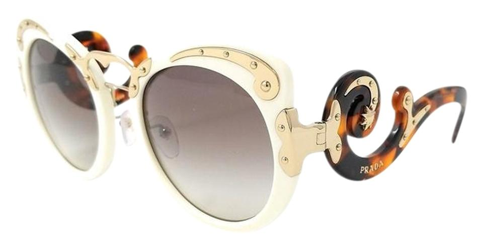 f8abef4964 Prada Prada Limited Edition Very Rare Butterfly Ivory Tortoise Sunglasses  Image 0 ...
