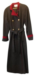 Carolina Herrera Wool Trench Coat