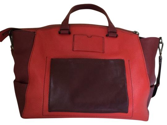 Reed Krakoff Tote in Red and Burgundy