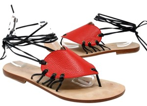 CoRNETTI Revolve Lpa Gladiator Fendi Monogram Red Sandals