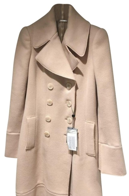 Item - Pink Nude Cashmere Over Coat Size 4 (S)