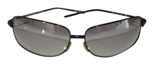 Oliver Peoples Oliver Peoples 'Sly' Titanium Matte Black Polarized Sunglasses w/ Case & Cloth