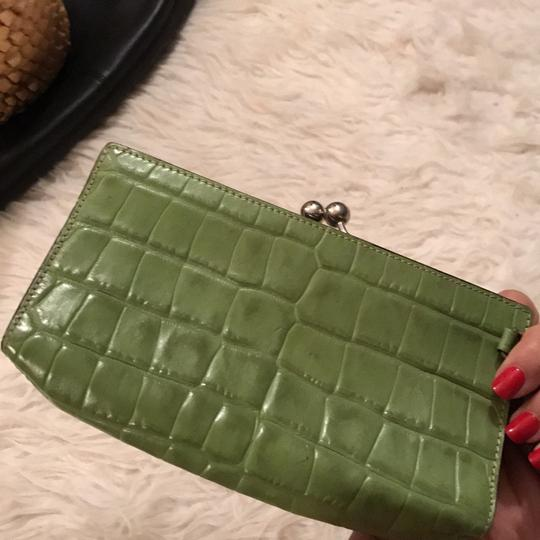 Burberry London lime Green Clutch Image 3