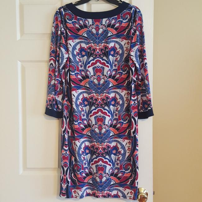 Laundry by Shelli Segal Coctail Long Sleeve Dress Image 4