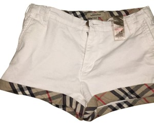 Burberry Mini/Short Shorts white