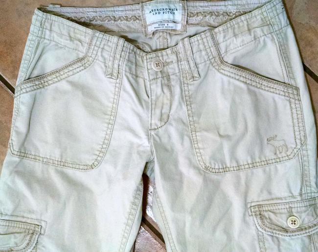 Abercrombie & Fitch P1320 Size 2 Cargo Pants beige