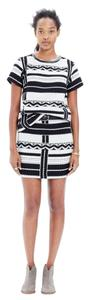 Madewell Mini Skirt black/white