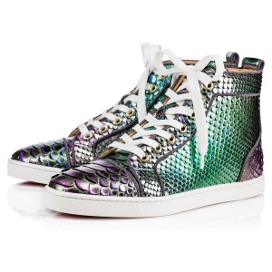 Christian Louboutin Bip Orlato Sneaker Trainer Runner green Athletic