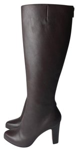 Christian Louboutin brown Bourge Boots