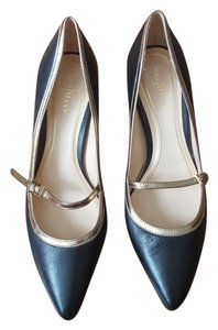 Cole Haan Black with gold trim Pumps