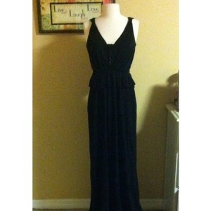 A.B.S. By Allen Schwartz Black Abs Formal Gown Dress