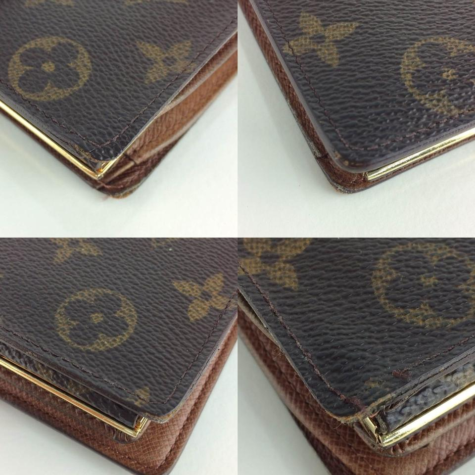louis vuitton brown porte monnaie bie viennois wallet from modam on tradesy. Black Bedroom Furniture Sets. Home Design Ideas