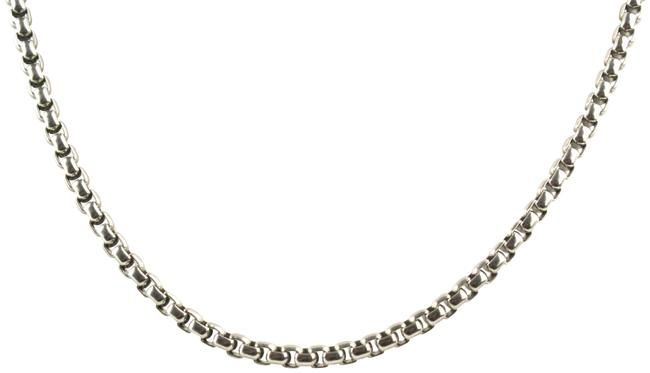 Item - Stainless Steel Box Medium Chain Necklace