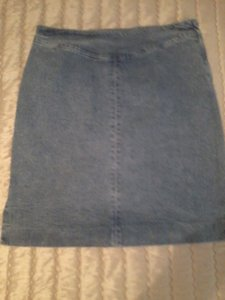 Ralph Lauren Mini Skirt Blue
