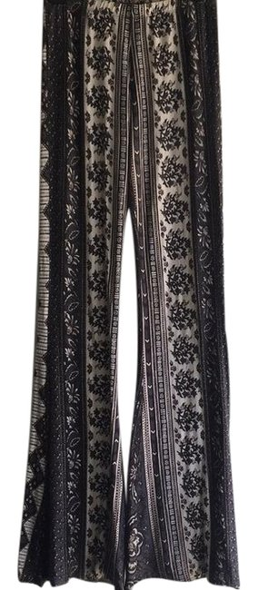 Item - Black and White Janis Bells Pants Size 8 (M, 29, 30)