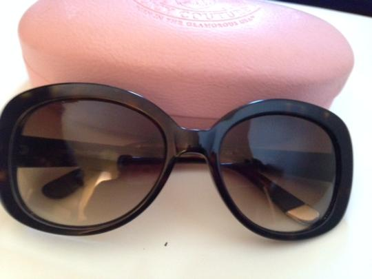 Juicy Couture Juicy Couture Eyeglasses - Tortoise Shell Frame - Brown with Case