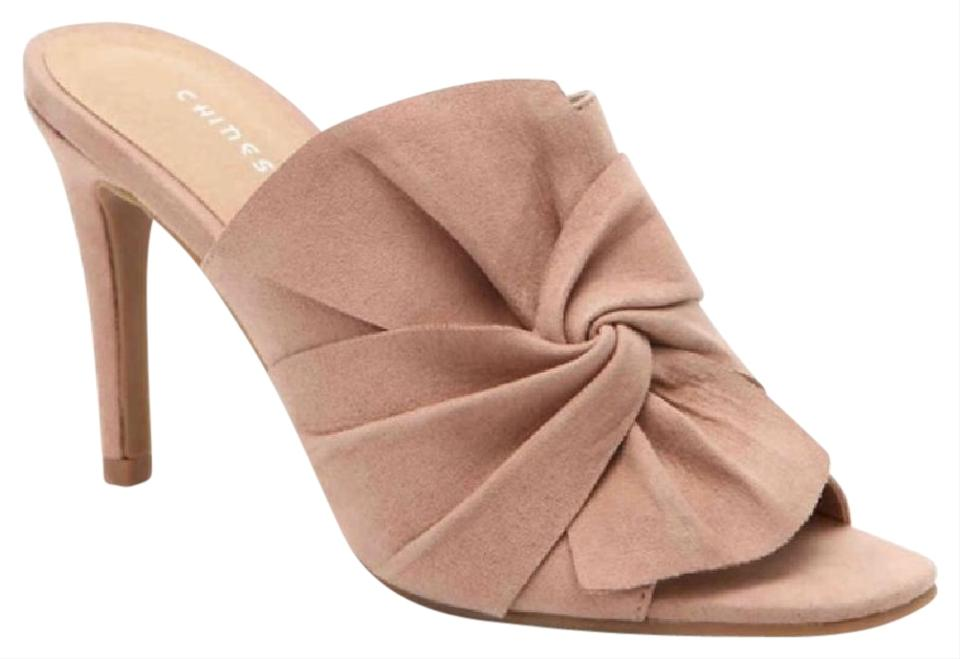 Chinese Laundry Pumps Nude Buff Suede Ruffles Pumps Laundry 719293