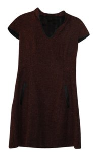 Kensie short dress burnt maroon on Tradesy