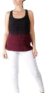 Madison Marcus Sleeveless Tiered Casual Top Multicolor